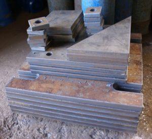 Изготовление металлических косынок